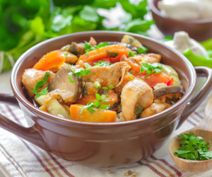 Italian Pot Roast with Artichokes and Potatoes
