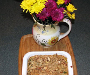 Kale and Brown Rice Casserole