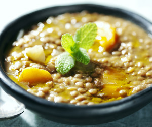 Lentil Sweet Potato Soup