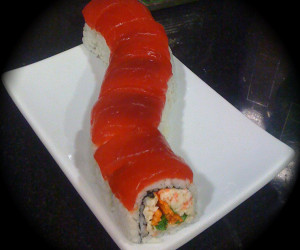 'Meaty Man' Sushi Roll