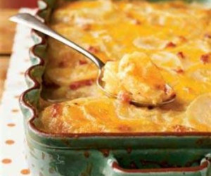 Meryl's Too Soon Country Potatoes au Gratin