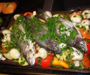 Moroccan Fish Tagine with Chermoula