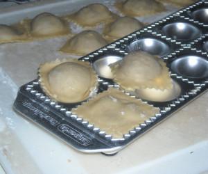 Mushroom Stuffed Ravioli