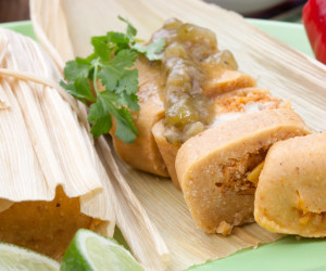 New Mexican Pork Tamales