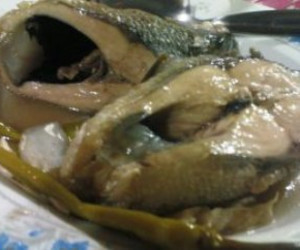 Paksiw Na Isda (Boiled Pickled Fish and Vegetables)