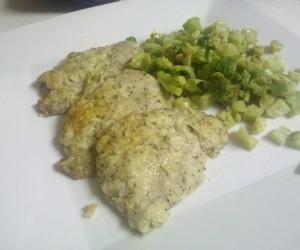 Parmesan Garlic Pork Chops