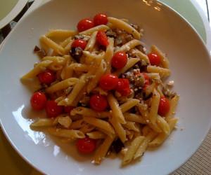 Penne W/ Eggplant and Ricotta Salata