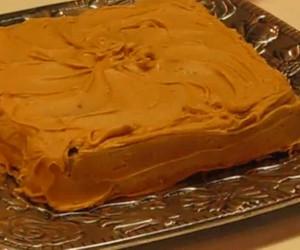 Penuche Icing For Applesauce Spice Cake
