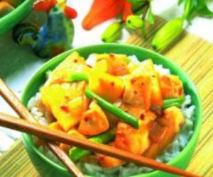 Pineapple Ginger Chicken Stir-Fry