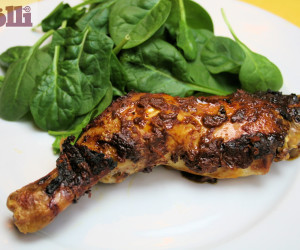 CHICKEN- Broiled or Grilled Pollo Sabroso