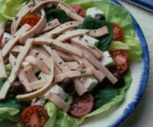 Pork Salad a la Grecque
