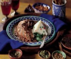 Pork Tenderloin With Classic Mole Sauce