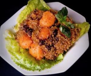 Quinoa and Melon Salad