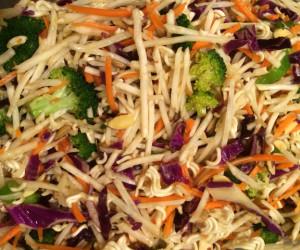 Ramen Noodle Tossed Salad