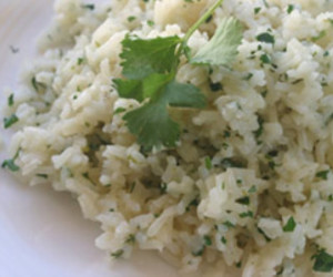 Refreshing Cilantro Lime Rice