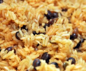 Dad's Rice w/ Pigeon Peas (Arroz con Guandules)