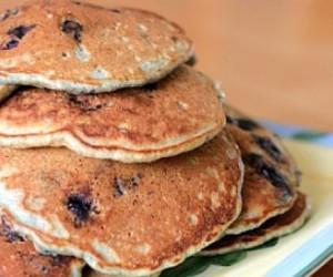 Rich Blueberry Buttermilk Pancakes