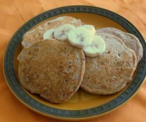 Richard Simmons Banana Pancakes