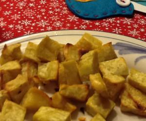roasted California batata/boniato (sweet potato's latino cousin)