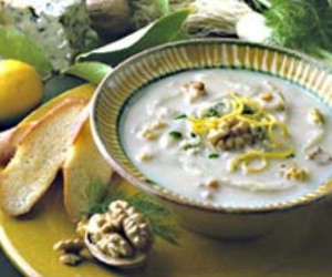 Roasted Fennel Soup with Walnuts and Stilton - BigOven