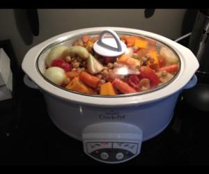 Slow Cooker Moroccan Turkey Stew