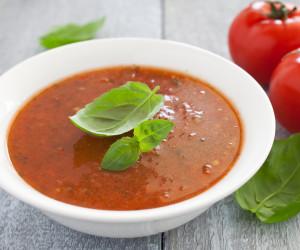 Slow Roasted Tomato & Basil Soup
