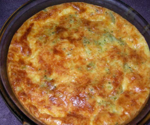 Sour Cream & Broccoli Quiche