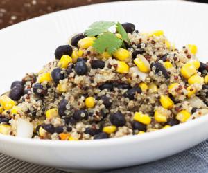 Southwest Vegan Quinoa and Black Bean