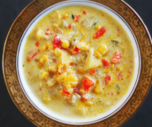 Southwestern Soup (aka Mexican Chicken Corn Chowder)