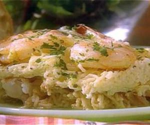Spicy Shrimp and Pasta Casserole