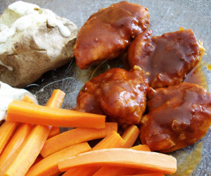 Stove Top Barbecue Chicken