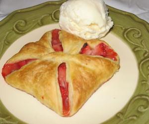 Strawberry Almond Tarts