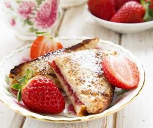 Strawberry-Stuffed French Toast