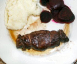 Stuffed Rolled Beef (Braciolone)