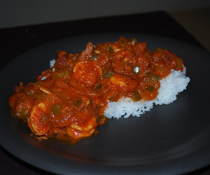Super Hot Andoullie & Shrimp Creole