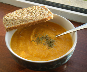 Sweet Potato And Parsnip Soup