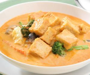 Tofu w/ Thai Curry Sauce