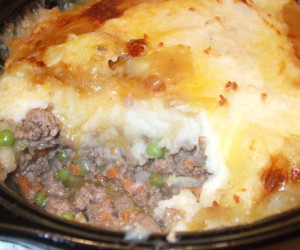 Traditional Shepherds Pie