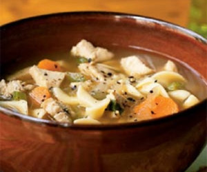Turkey Noodle Soup