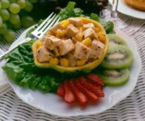 Turkey Papaya Salad