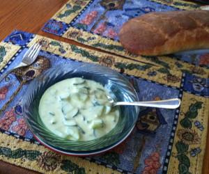 Tzatziki (Greek Cucumber and Yogurt Salad)