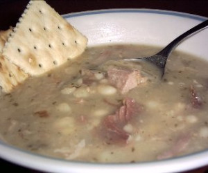 US Navy Bean Soup
