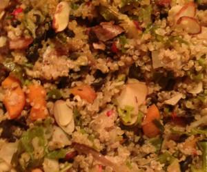 Vegetable Quinoa Bake
