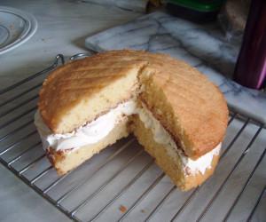 Victoria Sandwich with a twist