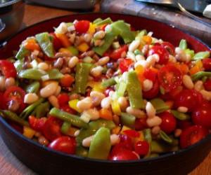 White beans and Citrus Tuna Salad