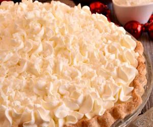 White Christmas Pie.White Christmas Pie