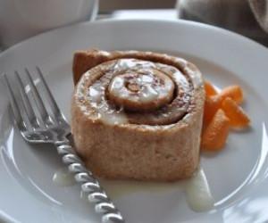 Whole Wheat Orange Cinnamon Rolls