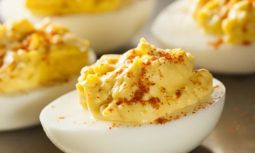 Basic Stuffed Eggs