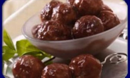 Cranberry Cocktail Meatballs