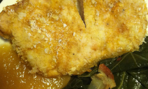 Flour Breaded Pork Chops